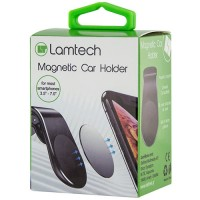 LAMTECH MAGNETIC CAR HOLDER WITH CLIP