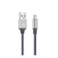 POWERTECH Καλώδιο USB σε Lightning eco small PTR-0049 copper, 1m, ασημί
