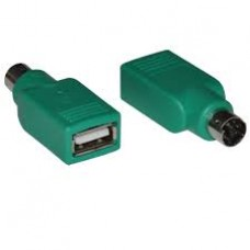 ADAPTOR USB A FEMALE TO PS2 MALE