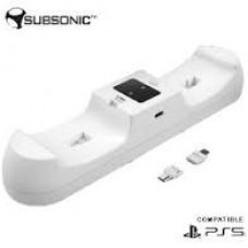 SUBSONIC PS5 CHARGING STATION DUAL DROP CHARGE H2H