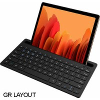 LAMTECH BT 5.0 KEYBOARD WITH IPAD AND MOBILE STAND BLACK
