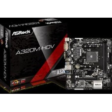 ASROCK MB A320M-HDV AMD AM4