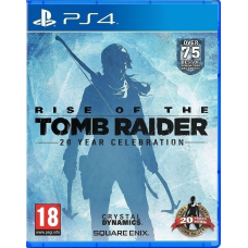 PS4 RISE OF THE TOMP RAIDER 20 YEAR CELEBRATION EDITION