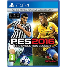 PS4 PRO EVOLUTION SOCCER 2016 DAY ONE EDITION