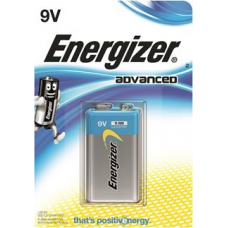 ENERGIZER ADVANCED BATTERY 9V