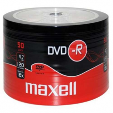 MAXELL DVD-R 16X 4.7GB 50PACK
