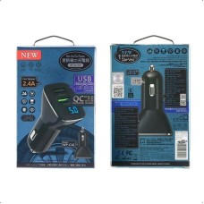 Quick Car Charger 3.0 WK 4.8A USBx2 WP-C16