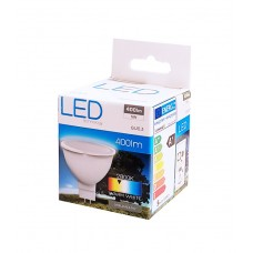OMEGA LED Λάμπα Spotlight OMELGU5.3-5W, 5W, Warm White 2800K, GU5.3