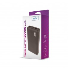 POWERBANK SETTY 20000 mAh BLACK