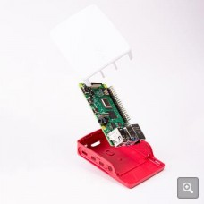 Official Raspberry Pi 4 Model B Red  White θήκη / κουτί
