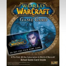 PC WORLD OF WARCRAFT 60 DAY GAME TIME CARD