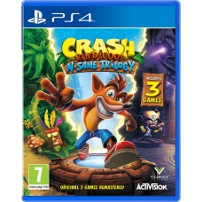 PS4 CRASH BANDICOOT NSANE TRILOGY