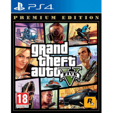 PS4 GTA 5 GRAND THEFT AUTO FIVE PREMIUM EDITION