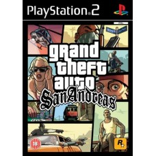 PS2 GRAND THEFT AUTO SAN ANDREAS(used)